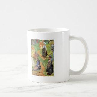 Paul Gauguin- en Bretagne Tasse À Café