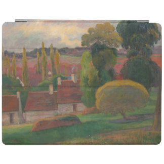 "Paul Gauguin ""Farm in Brittany"" France art print iPad Cover"