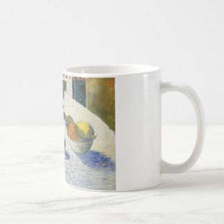 Paul Gauguin - Flowers and a Bowl of Fruit Coffee Mug