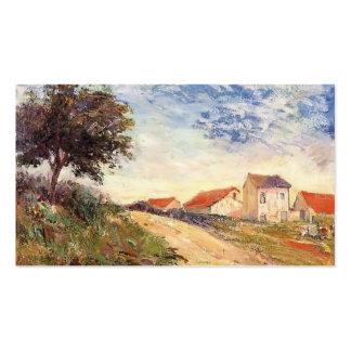Paul Gauguin- la route Modèle De Carte De Visite
