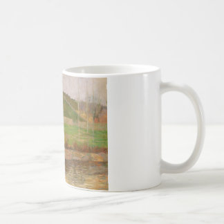 Paul Gauguin - Landscape near Pont-Aven Coffee Mug