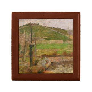 Paul Gauguin - Landscape near Pont-Aven Jewelry Boxes