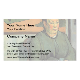 Paul Gauguin- Madame Roulin Business Card