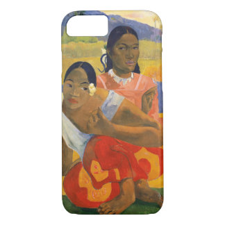 PAUL GAUGUIN - Nafea faa ipoipo 1892 Case-Mate iPhone Case