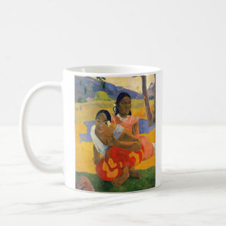 PAUL GAUGUIN - Nafea faa ipoipo 1892 Coffee Mug
