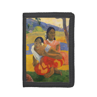 PAUL GAUGUIN - Nafea faa ipoipo 1892 Trifold Wallets