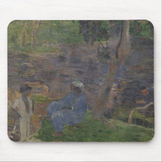 Paul Gauguin - On the Shore of the Lake Mouse Pad