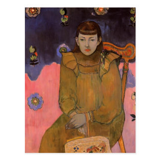 Paul Gauguin- Portrait of a Young Woman, Vaite Postcard