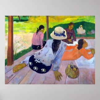 Paul Gauguin The Siesta Poster