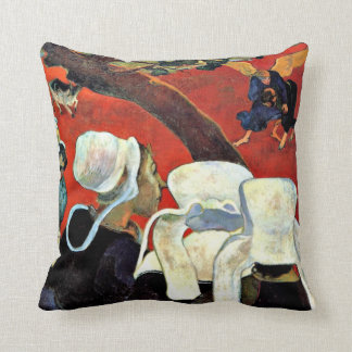 Paul Gauguin: The Vision After The Sermon Throw Pillow