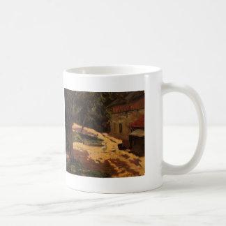 Paul Gauguin- un poulailler Tasses À Café