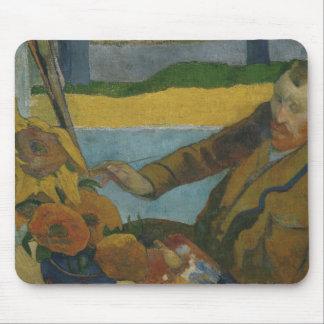 Paul Gauguin -Vincent van Gogh Painting Sunflowers Mouse Pad