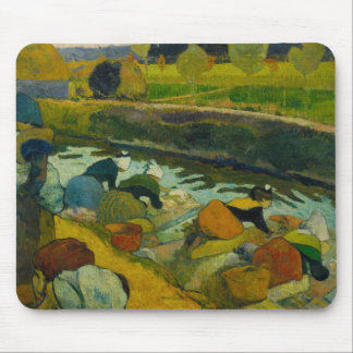 Paul Gauguin - Washerwomen Mouse Pad