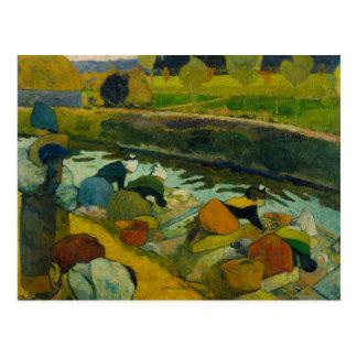 Paul Gauguin - Washerwomen Postcard