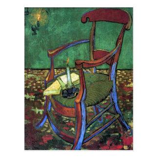 Paul Gauguin's Armchair by Vincent van Gogh 1888 Postcard