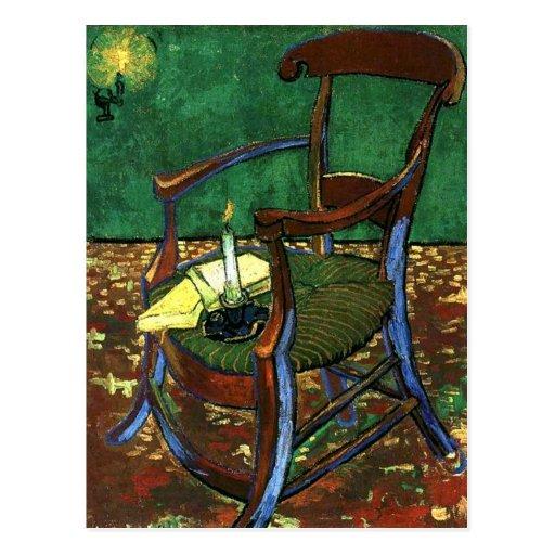 Paul Guaguin's Armchair by Vincent van Gogh Post Card
