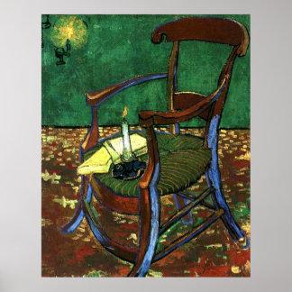 Paul Guaguin's Armchair by Vincent van Gogh Poster