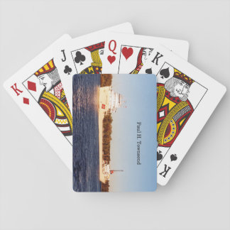 Paul H. Townsend playing cards