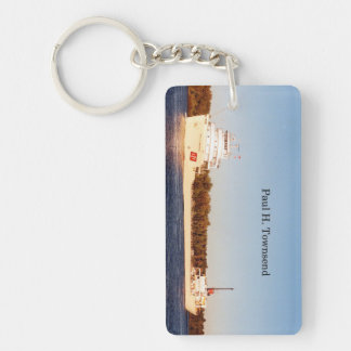 Paul H. Townsend rectangle acrylic key chain
