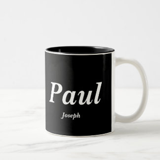 Paul, Joseph Two-Tone Coffee Mug