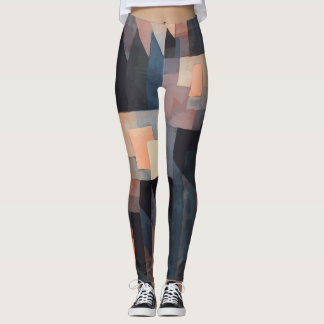 Paul Klee Abstract Artwork Leggings