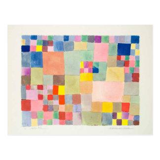 Paul Klee and Flora ON sand Postcard