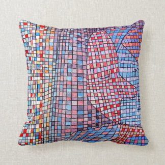 Paul Klee art: Abstruse painting Throw Pillow
