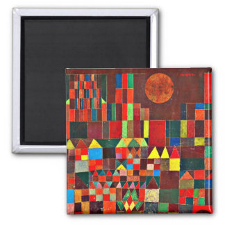 Paul Klee art - Castle and Sun, 1928 Magnet