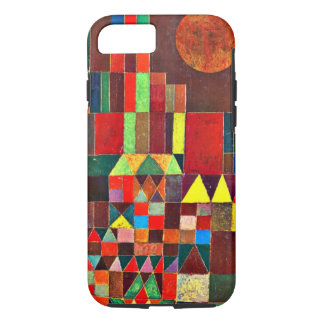 Paul Klee art: Castle and Sun, Klee painting iPhone 8/7 Case