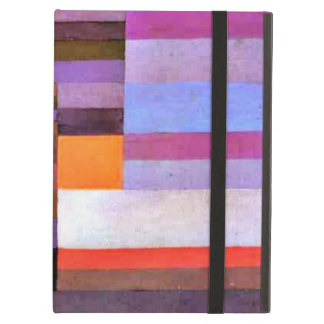 Paul Klee art: Fire Evening iPad Air Cases