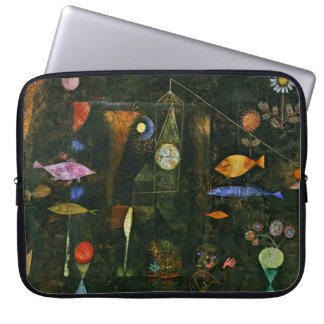 Paul Klee art: Fish Magic, famous Klee painting Laptop Sleeve