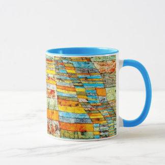 Paul Klee art: Highway and Byways Mug