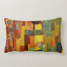 Paul Klee art: In the Style of Kairouan Lumbar Pillow
