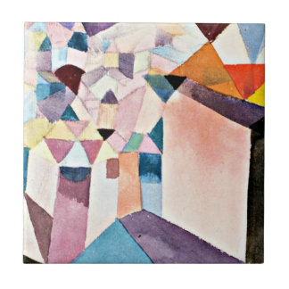 Paul Klee art: Insight into a City Tile