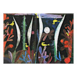 Paul Klee art: Landscape with Yellow Birds Poster