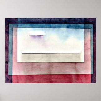 Paul Klee art: Resting, painting by Paul Klee Poster