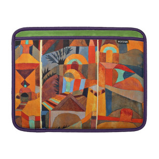 Paul Klee art: Temple Gardens MacBook Sleeve
