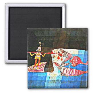 Paul Klee art: The Seafarer Magnet