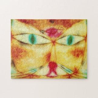 Paul Klee Cat and Bird Puzzle