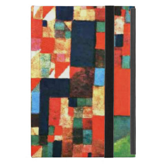 Paul Klee: City Picture with Red and Green Accents Cases For iPad Mini