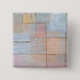 Paul Klee Clarification 2 Inch Square Button