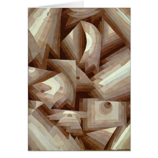 Paul Klee: Crystal Card
