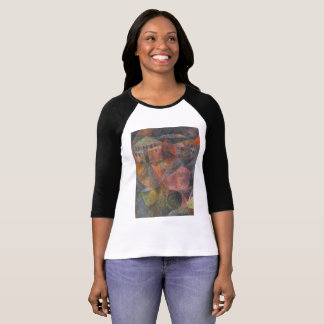 Paul Klee - Das Hotel - Black and White T T-Shirt