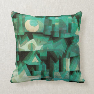 Paul Klee Dream City Pillow