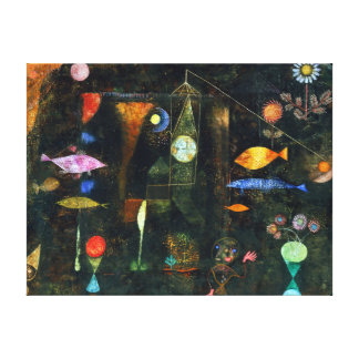 Paul Klee Fish Magic Canvas Print