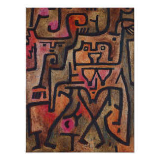 Paul Klee - Forest Witches Poster