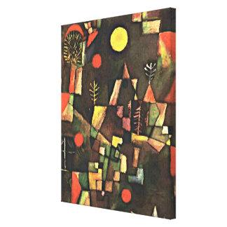 Paul Klee - Full Moon Canvas Print