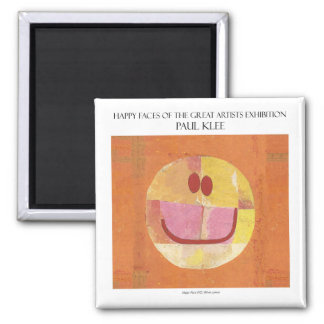 Paul Klee happy face magnet