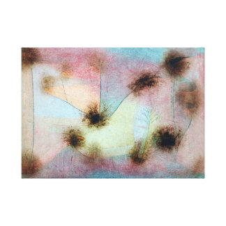 Paul Klee Hardy Plants Canvas Print