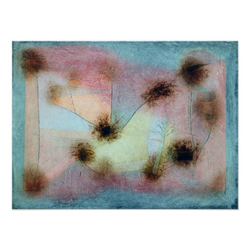 Paul Klee Hardy Plants Poster